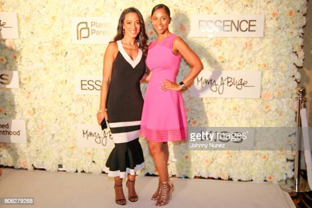 Angela Rye and Dr Felicia Reels attend the 2017 Essence Festival on July 2 2017 in New Orleans Louisiana