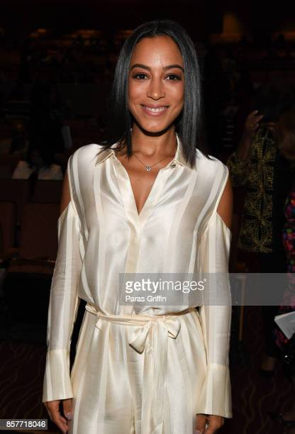 Angela Rye at 96th Birthday Celebration For Dr Joseph Lowery at Rialto Center for the Arts on October 4 2017 in Atlanta Georgia