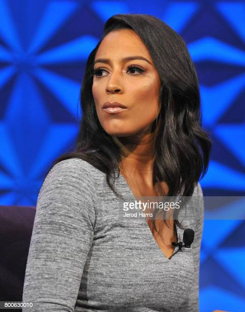 Angela Rye at day one of Genius Talks sponsored by ATT during the 2017 BET Experience at Los Angeles Convention Center on June 24 2017 in Los Angeles...