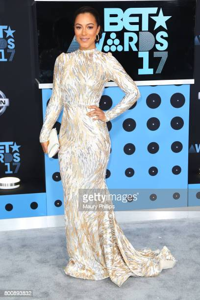 Angela Rye at the 2017 BET Awards at Microsoft Square on June 25 2017 in Los Angeles California