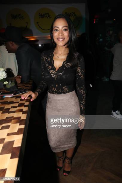 Angela Rye attends Remy Martin and Charlamagne Tha God Celebrate 'Black privilege' Book Launch at Kola House on April 18 2017 in New York City
