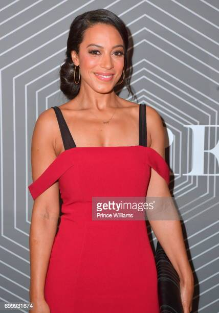Angela Rye attends the Debra Lee PreBET awards Dinner at The London West Hollywood on June 21 2017 in West Hollywood California