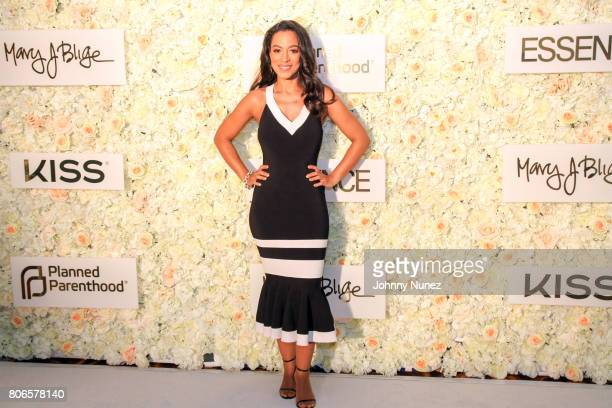 Angela Rye attends the Strength Of A Woman Brunch hosted by Mary J Blige at The Roosevelt New Orleans on July 2 2017 in New Orleans Louisiana