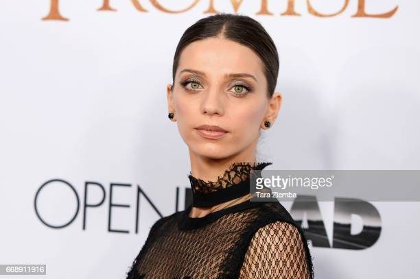 Angela Sarafyan arrives to the Los Angeles premiere of 'The Promise' at TCL Chinese Theatre on April 12 2017 in Hollywood California