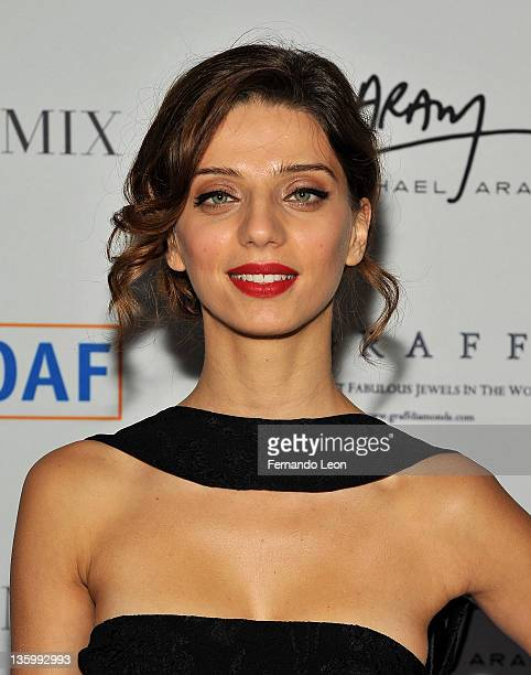 Angela Sarafyan attends the 8th annual Children of Armenia fund benefit at the Metropolitan Museum of Art on December 15 2011 in New York City