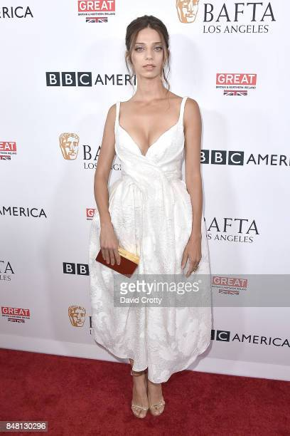Angela Sarafyan attends the BBC America BAFTA Los Angeles TV Tea Party 2017 Arrivals at The Beverly Hilton Hotel on September 16 2017 in Beverly...