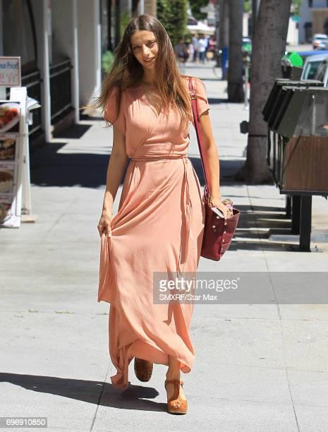 Angela Sarafyan is seen on June 16 2017 in Los Angeles California