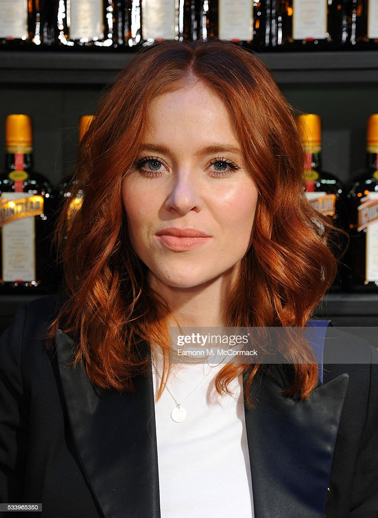 Angela Scanlon arrives for Cointreau Creative Awards at Liberty on May 24, 2016 in London, England.