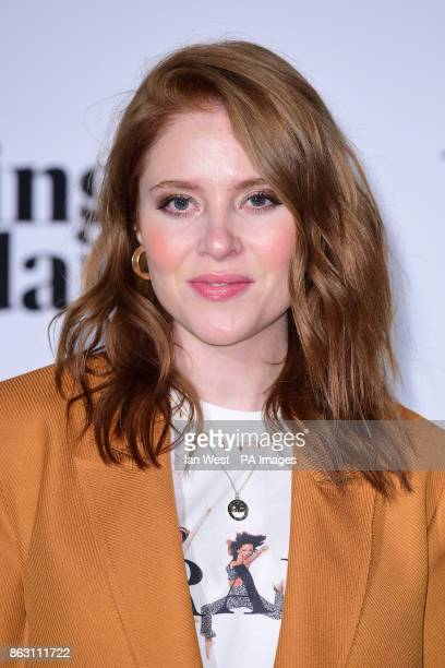 Angela Scanlon at the London Evening Standard's annual Progress 1000 in partnership with Citi and sponsored by Invisalign UK held in London PRESS...