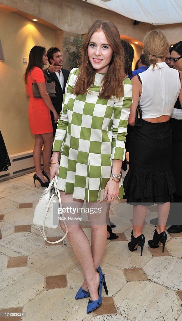 Angela Scanlon attends Daphne's evening of dinner & dancing at Daphne's on July 24, 2013 in London, England.