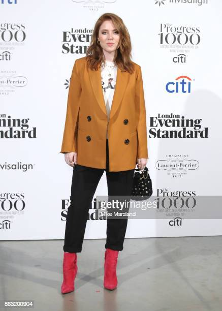 Angela Scanlon attends London Evening Standard's Progress 1000 London's Most Influential People event at on October 19 2017 in London England