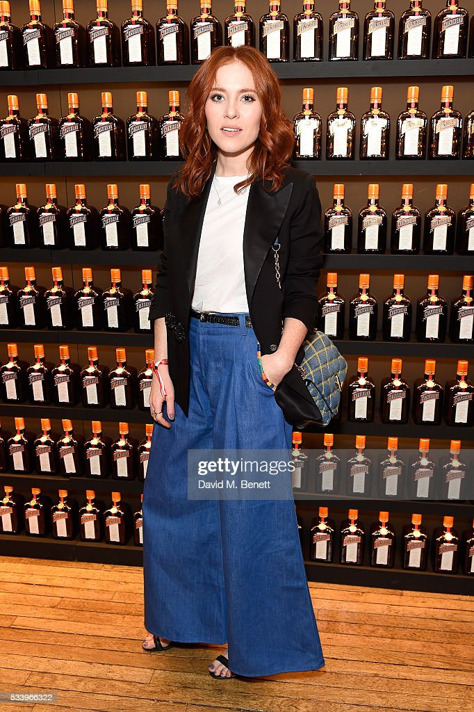 Angela Scanlon attends the Cointreau Creative Crew Award Ceremony at Liberty London on May 24, 2016 in London, England.