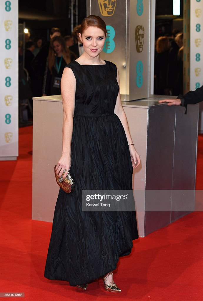 Angela Scanlon attends the EE British Academy Film Awards at The Royal Opera House on February 8, 2015 in London, England.