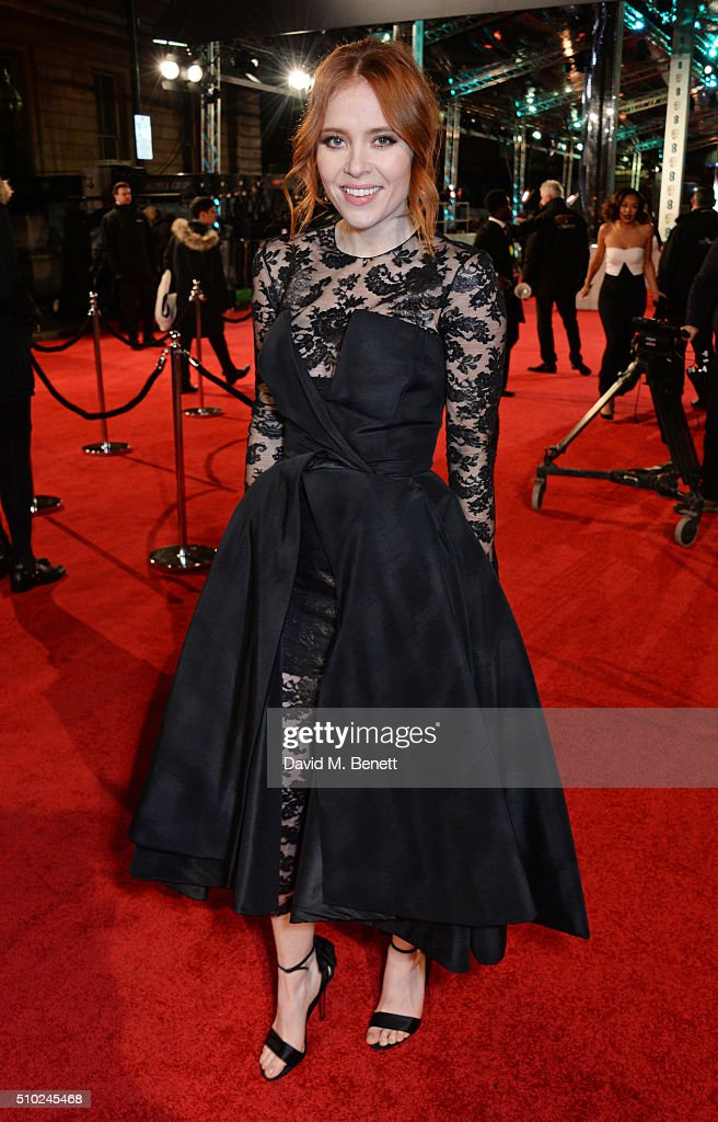 Angela Scanlon attends the EE British Academy Film Awards at The Royal Opera House on February 14, 2016 in London, England.