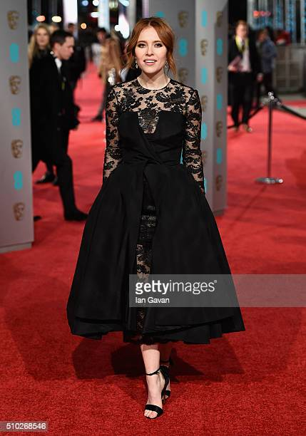 Angela Scanlon attends the EE British Academy Film Awards at the Royal Opera House on February 14 2016 in London England