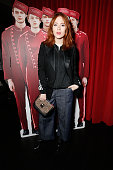 Angela Scanlon attends the Hill Friends Presentation show during London Fashion Week Autumn/Winter 2016/17 at on February 21 2016 in London England