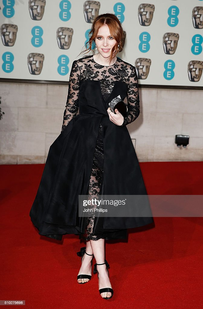 <a gi-track='captionPersonalityLinkClicked' href=/galleries/search?phrase=Angela+Scanlon&family=editorial&specificpeople=9752135 ng-click='$event.stopPropagation()'>Angela Scanlon</a> attends the official After Party Dinner for the EE British Academy Film Awards at The Grosvenor House Hotel on February 14, 2016 in London, England.