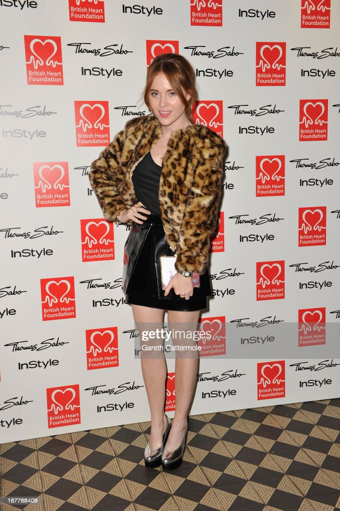 <a gi-track='captionPersonalityLinkClicked' href=/galleries/search?phrase=Angela+Scanlon&family=editorial&specificpeople=9752135 ng-click='$event.stopPropagation()'>Angela Scanlon</a> attends the Tunnel of Love fundraiser in aid of the British Heart Foundation at One Mayfair on November 12, 2013 in London, England.