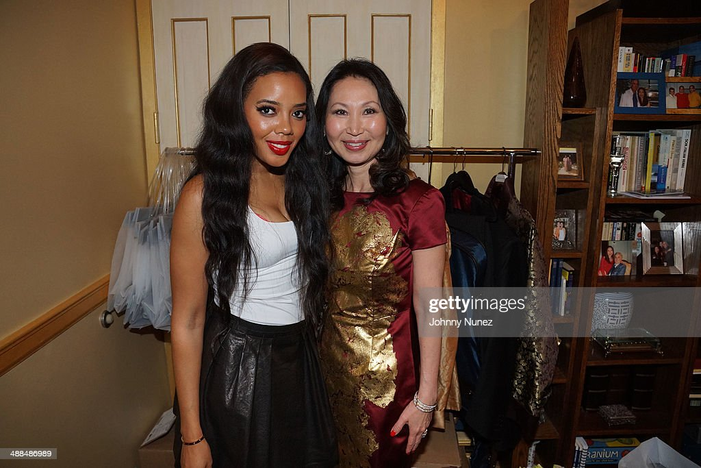 <a gi-track='captionPersonalityLinkClicked' href=/galleries/search?phrase=Angela+Simmons&family=editorial&specificpeople=653461 ng-click='$event.stopPropagation()'>Angela Simmons</a> and Hyela Makoujy attend the Draft Classic Schuyler Gifting Suite at a private residence on May 6, 2014 in New York City.