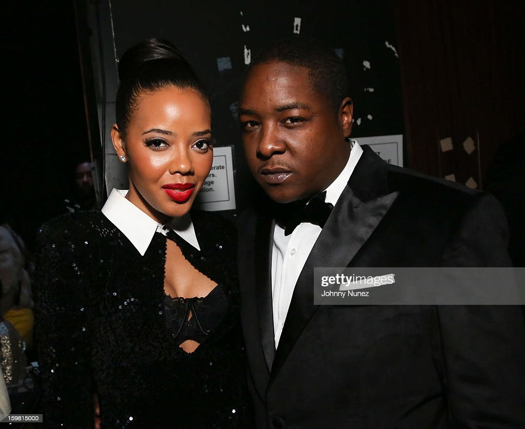 Angela Simmons and Jadakiss attend The Hip-Hop Inaugural Ball II at Harman Center for the Arts on January 20, 2013 in Washington, DC.