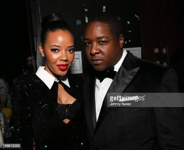 Angela Simmons and Jadakiss attend The HipHop Inaugural Ball II at Harman Center for the Arts on January 20 2013 in Washington DC
