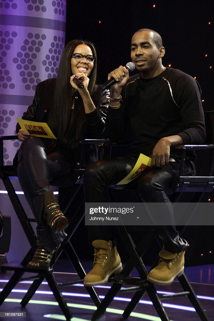 <a gi-track='captionPersonalityLinkClicked' href=/galleries/search?phrase=Angela+Simmons&family=editorial&specificpeople=653461 ng-click='$event.stopPropagation()'>Angela Simmons</a> and Jason Bolden visit BET's '106 & Park' at BET Studios on February 11, 2013 in New York City.