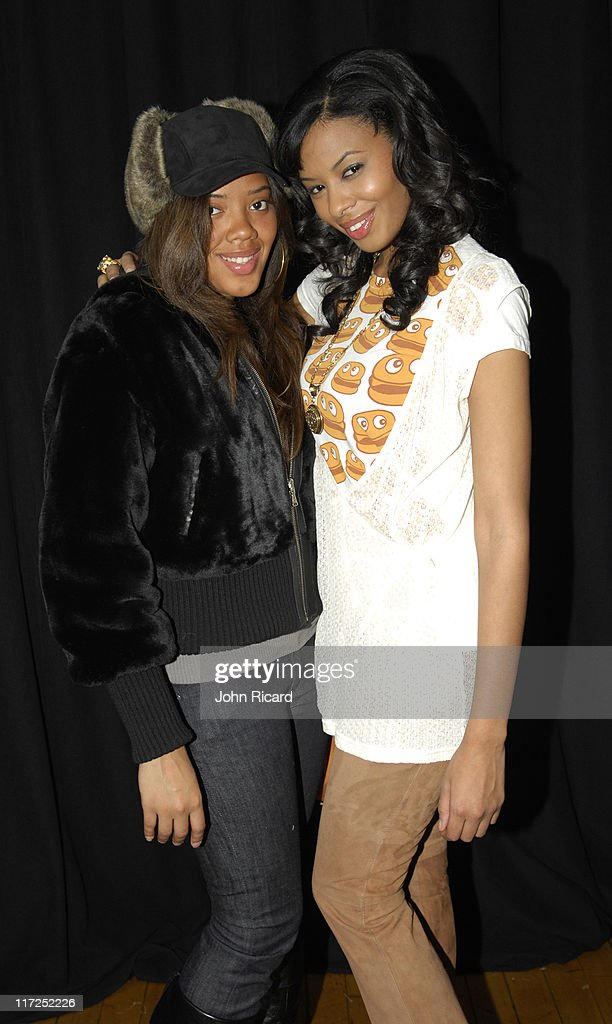 Angela Simmons and Vanessa Simmons during The Ronald McDonald House Presents Jay McCaroll Fashion Show Featuring Kelis December 12 2006 at The Puck...