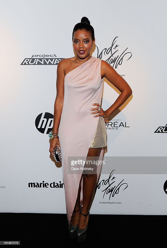 Angela Simmons at Lord & Taylor on September 5, 2012 in New York City.