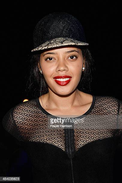 Angela Simmons at the Bombay Sapphire artisan series finale dinner hosted by Russell Simmons and Tom Colicchio at Soho Beach House on December 6 2013...