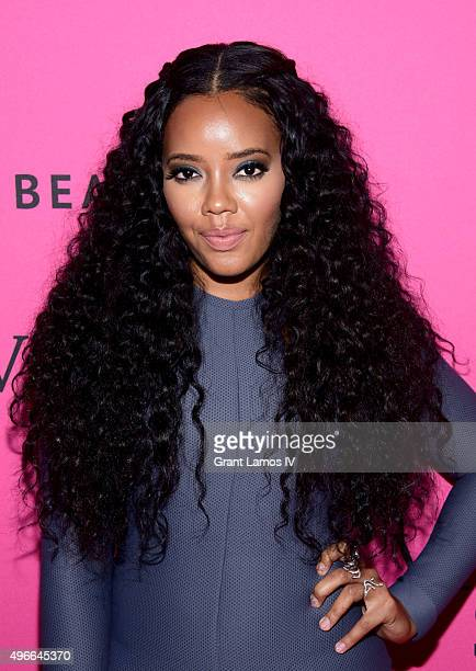 Angela Simmons attends the 2015 Victoria's Secret Fashion After Party at TAO Downtown on November 10 2015 in New York City