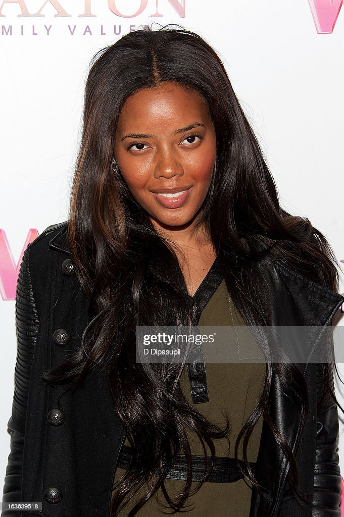 Angela Simmons attends the 'Braxton Family Values' Season Three premiere party at STK Rooftop on March 13, 2013 in New York City.