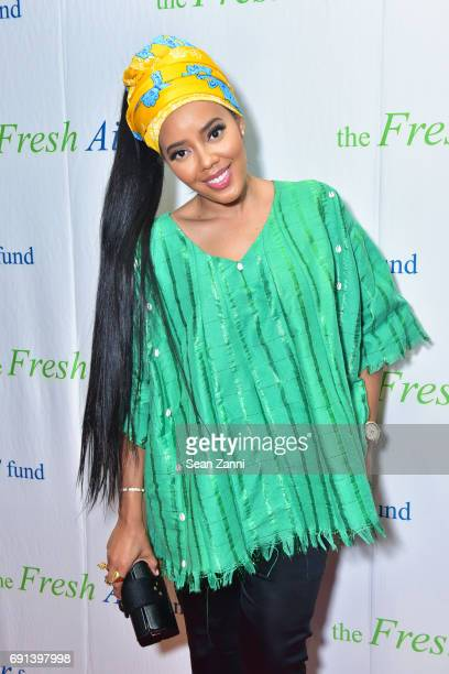 Angela Simmons attends The Fresh Air Fund's Spring Benefit 2017 at Pier Sixty Chelsea Piers on June 1 2017 in New York City