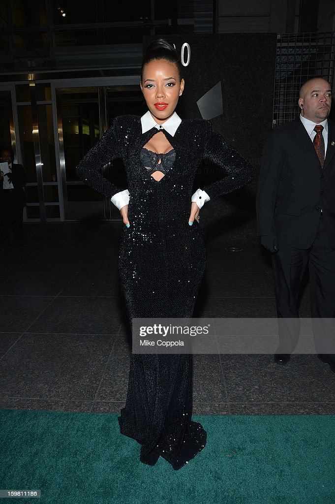 Angela Simmons attends The Hip Hop Inaugural Ball II sponsored by Heineken USA at Harman Center for the Arts on January 20, 2013 in Washington, DC.