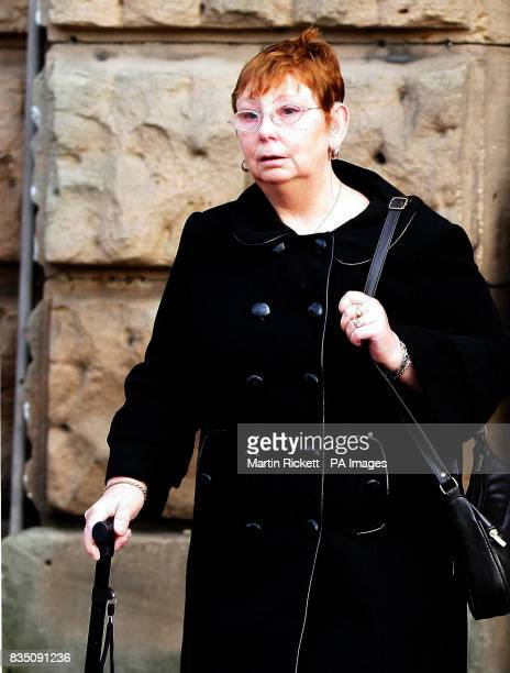 Angela Statham leaves Chester Crown Court after Portuguese lorry driver Paulo Jorge Nogueira da Silva was jailed for three years for causing the...