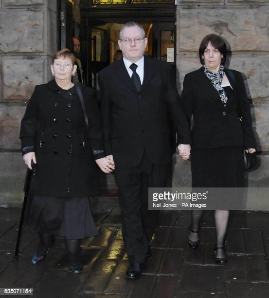 Angela Statham Peter Hagans and his wife Carol Hagans leaving Chester Crown Court after the beginning of the trial against Portuguese lorry driver...