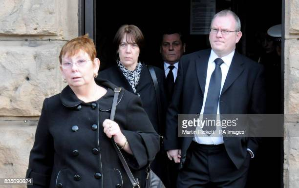 CROP Angela Statham with Carole and Peter Hagans leave Chester Crown Court after Portuguese lorry driver Paulo Jorge Nogueira da Silva was jailed for...