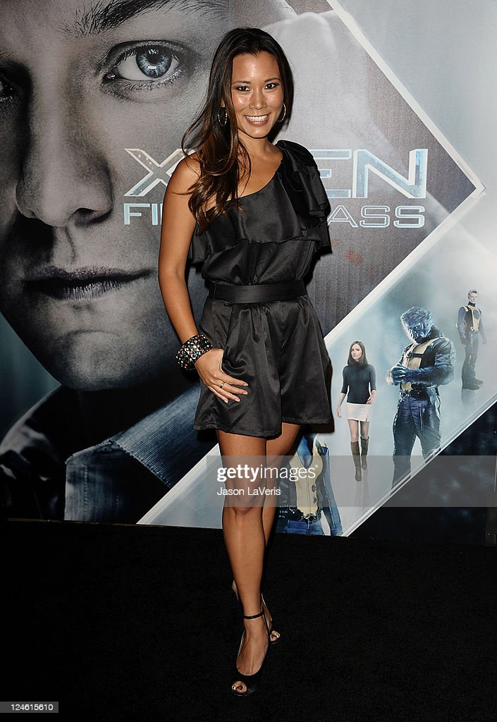 Angela Sun attends the 'X-Men: First Class' 3D projection party at The Roosevelt Hotel on September 8, 2011 in Hollywood, California.