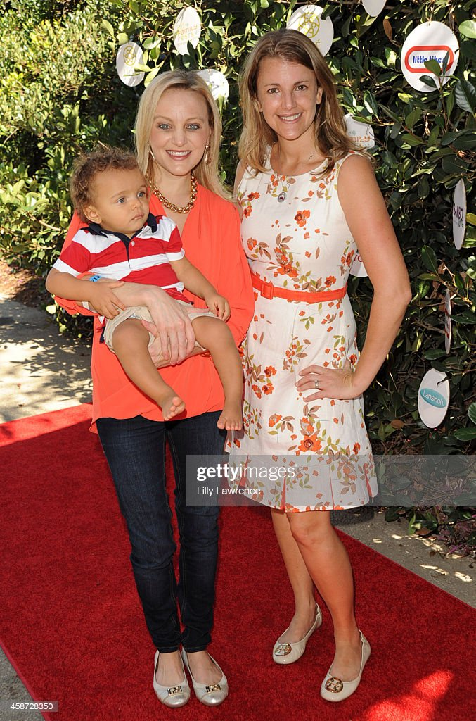Angela Unkrich, her son Alfonso Ribeiro , Jr. and founder ...