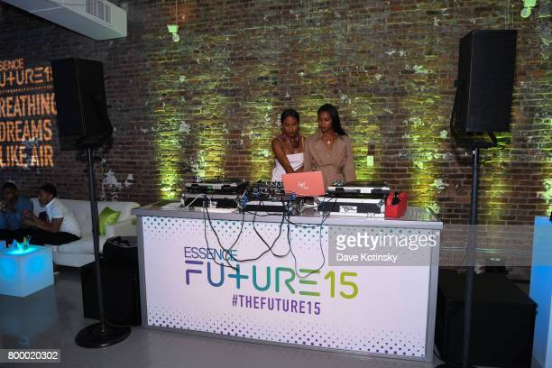 AngelDren perform at the Essence Toyota Future 15 Event at Root NYC on June 22 2017 in New York City