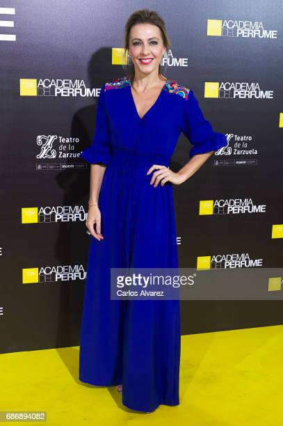 Angeles Blanco attends the 'Academia del Perfume' awards 2017 at the Zarzuela Teather on May 22 2017 in Madrid Spain