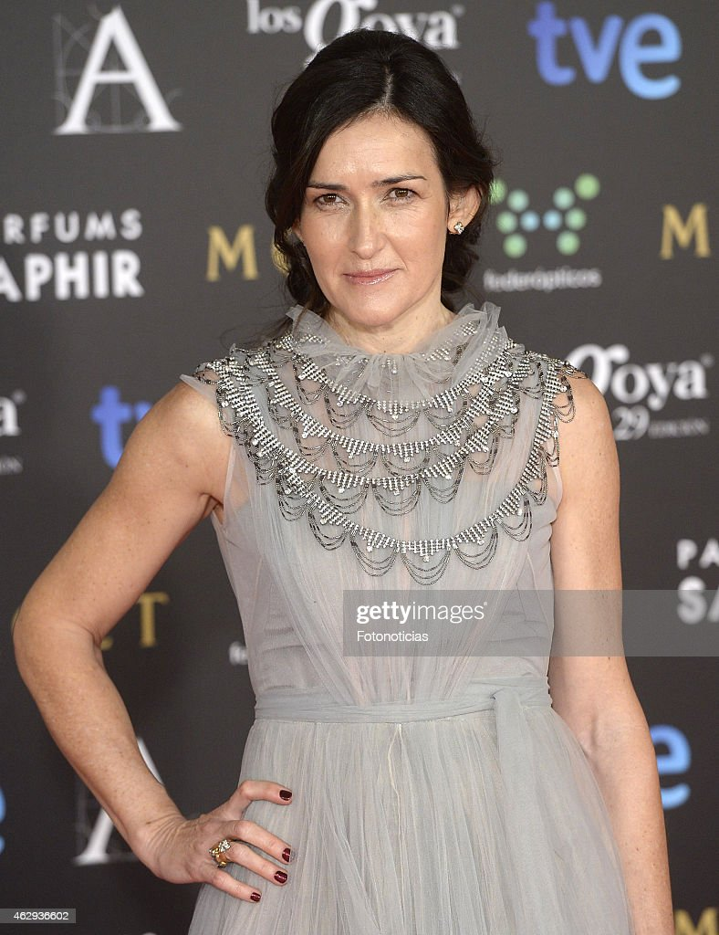 Angeles Gonzalez Sinde attends Goya Cinema Awards 2015 at Centro de Congresos Principe Felipe on February 7 2015 in Madrid Spain