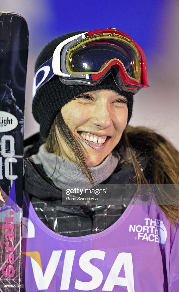<a gi-track='captionPersonalityLinkClicked' href=/galleries/search?phrase=Angeli+Vanlaanen&family=editorial&specificpeople=5691215 ng-click='$event.stopPropagation()'>Angeli Vanlaanen</a> of the United States reacts after her final run during the Women's Ski Halfpipe competition on day two of the Visa U.S. Freeskiing Grand Prix at Park City Mountain Resort January 18, 2014 in Park City, Utah.
