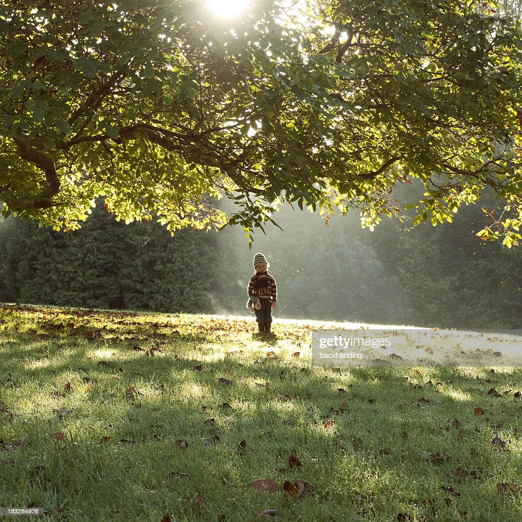 Angelic Autumn child