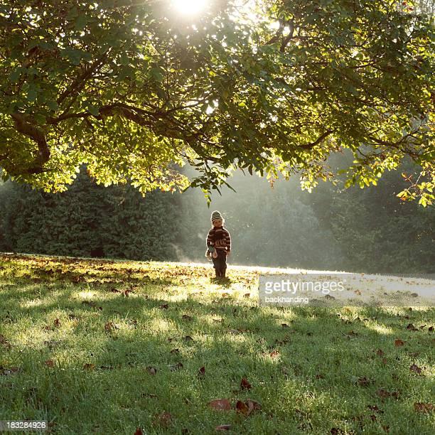 Engelsgleich Herbst Kind