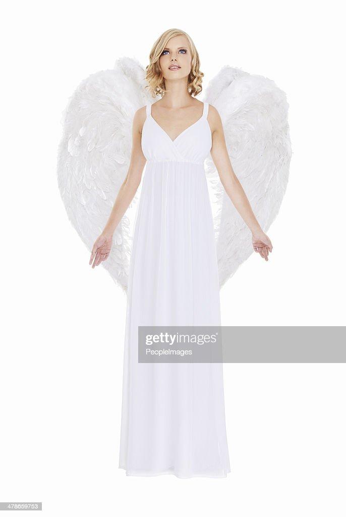 Angelic beauty : Stock Photo