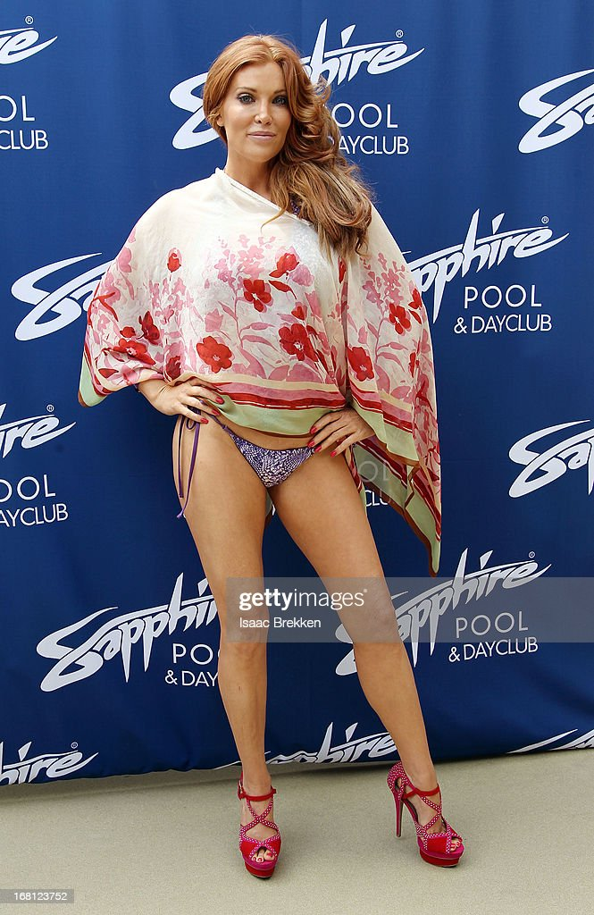 Angelica Bridges arrives at the grand opening of the Sapphire Pool & Day Club on May 5, 2013 in Las Vegas, Nevada.