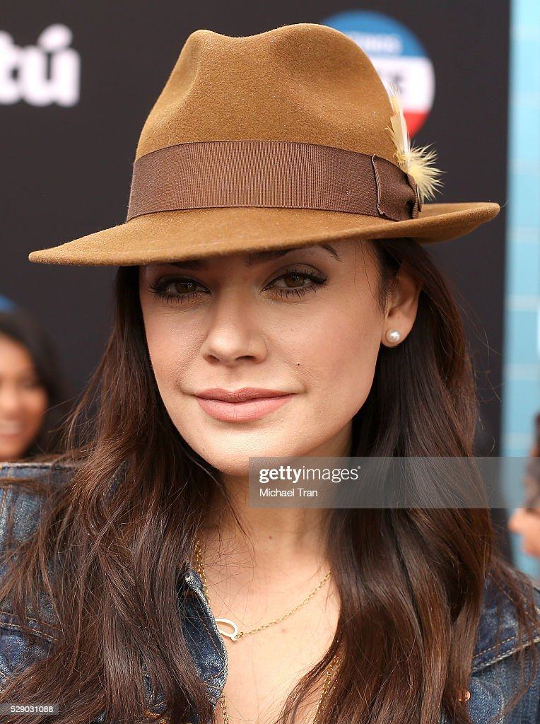 Angelica Celaya arrives at The National T.A.C.O. Challenge held at LA Plaza de Cultura y Artes on May 7, 2016 in Los Angeles, California.