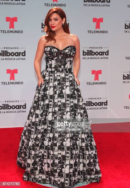 Angelica Celaya attends Billboard Latin Music Awards Arrivals at Watsco Center on April 27 2017 in Coral Gables Florida