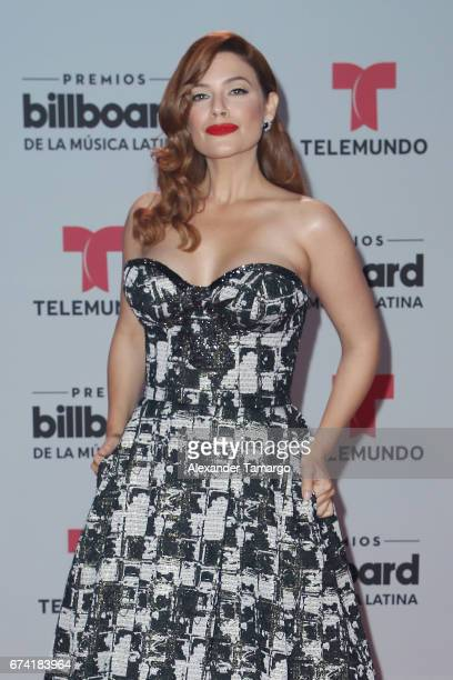 Angelica Celaya attends the Billboard Latin Music Awards at Watsco Center on April 27 2017 in Coral Gables Florida