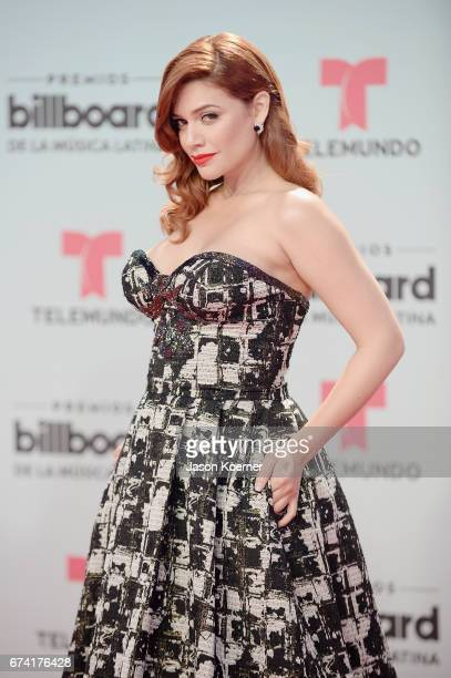 Angelica Celaya Billboard Latin Music Awards at Watsco Center on April 27 2017 in Miami Florida